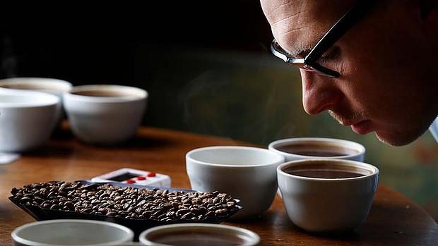 thử cà phê