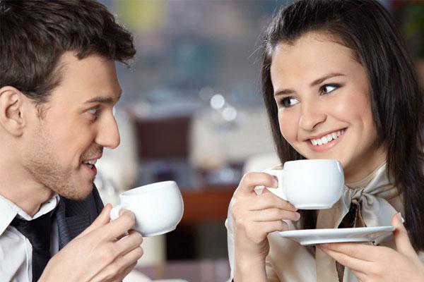 uống café rang xay